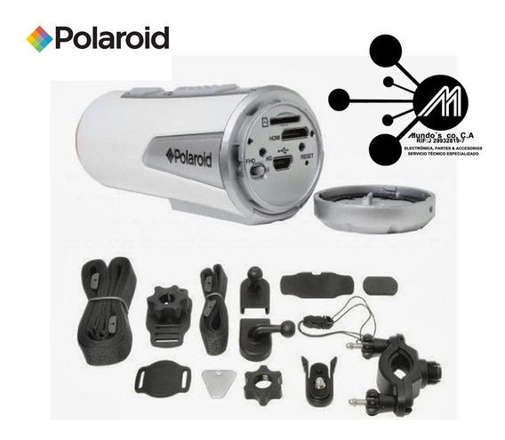 Cámara Polaroid Xs100 Para Bicicleta