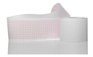 Papel Termosensible Para Ecg 50mm X 30mts - Caja X 10 Rollos