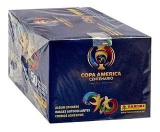 Usa 2016 Copa America Centenario Panini Completa Caja De 50