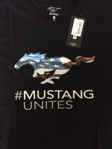 Camiseta Ford Mustang Flag_eua Original Ford*