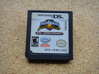 Power Rangers Super Legends Nintendo Ds