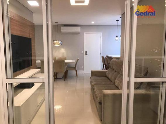 Apartamento Com 3 Dormitórios À Venda, 97 M² Por R$ 750.000,00 - Mogilar - Mogi Das Cruzes/sp - Ap0774
