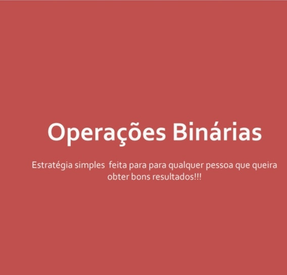 E-book Com Estrategias Para Opcoes Binarias
