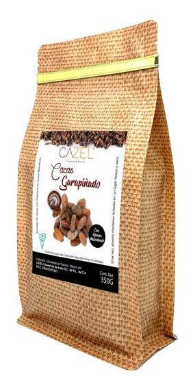 Semilla Grano De Cacao Garapiñado Azúcar Mascabado Oax 350g