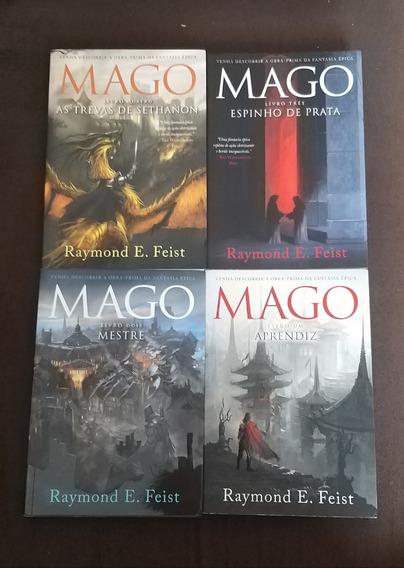 Coleção - Mago - 4 Volumes Raymond E. Feist