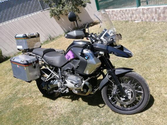 Moto Bmw R-1200 Gs Con Mucho Equipo Adicional, Triple Black