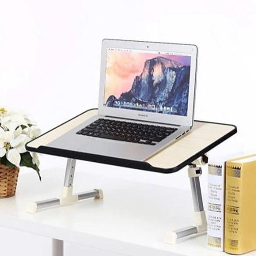 Mesa Porta Laptop Cooler Ventilador Regulable Mouse Notebook