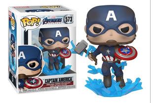 Funko Pop! Capitán América 573 Escudo Y Martillo Original