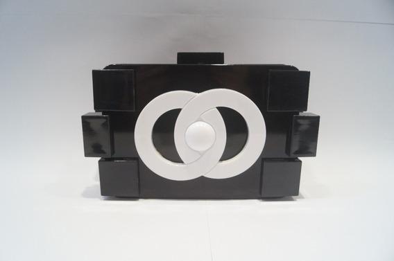 Lindas Bolsas Clutches Lego Várias Cores Com Logo