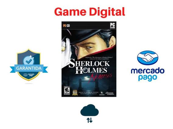 Sherlock Holmes Nemesis + Brinde Mídia Digital Pc