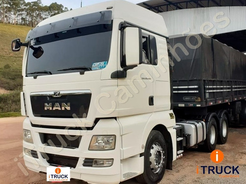 Imagem 1 de 11 de Man 29480 T 6x4 Ano 2018 Automático =mb 2644 2646 Scania 480
