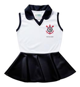 Vestido Polo Infantil - Corinthians
