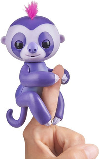 Fingerlings Bebe Perezoso Interactivo - Original Usa
