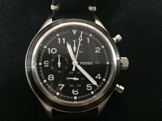 Relógio Masculino Fossil - Pulseira Couro - Modelo Jr1440