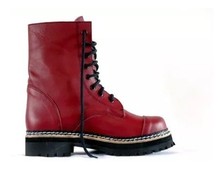 Borcegos Dirty Boots Caña Media 2 Pta Partida T:34-40