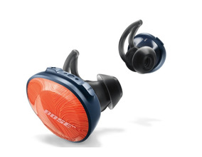 Fone Bose Soundsport Free In-ear Laranja Bt