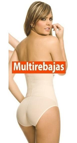Panty Levantacola Relleno Con Faja Alta ***oferta Del Mes