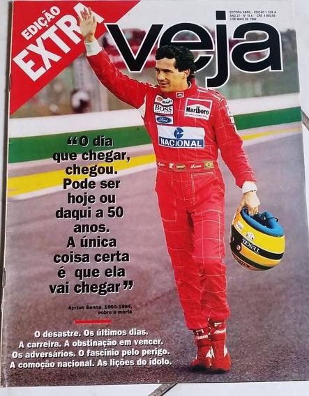Revista Veja Ayrton Senna - Especial