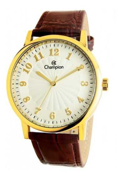 Relógio Champion Masculino Analógico Couro Cn20560s Original