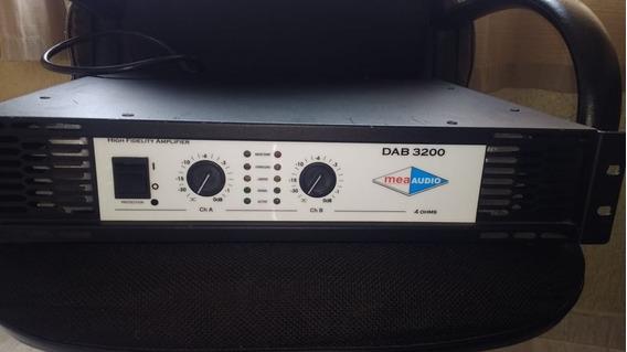 Potencia Mea Audio Dab 3200 (amplificador)