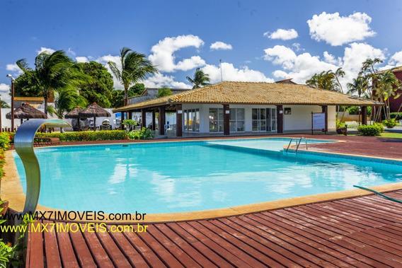 Casa Em Condomínio Com 2 Quartos Para Alugar No Barra Do Jacuípe Em Camaçari/ba - 572