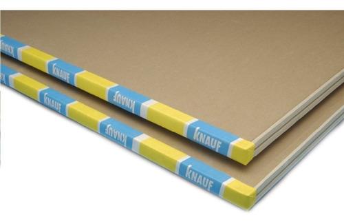 Placa Yeso Knauf 9,5mm 1,20x2,40 Mts Simil Durlock Maderwil