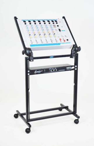 Rack Com Regulagem Para Mesa De Som Amplificadores M19l Ask