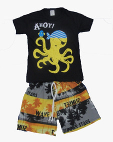 Roupas Infantil Menino Kit 10 Conjunto Infantil Masculino