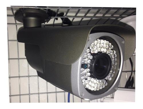 Camaras Exterior Sony Varifocal 2.8-12mm 1/3, 72led ,osd,