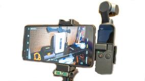 Suporte Para Dji Osmo Pocket E Celular - Maior Segurança