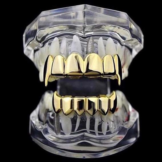 Grillz Gold Thief Vampire Hip Hop (envio Imediato)