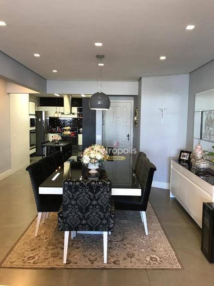 Apartamento Com 3 Dormitórios À Venda, 125 M² Por R$ 630.000 - Barcelona - São Caetano Do Sul/sp - Ap3325