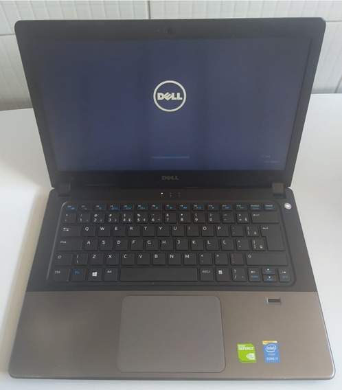 Notebook Dell Intel I7 4gb 240gb Ssd Geforce 820m 2gb