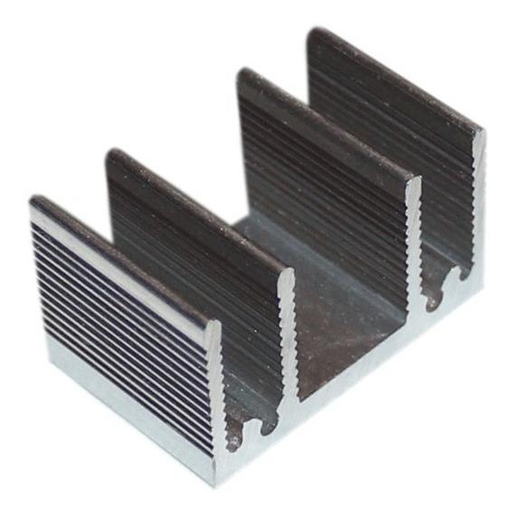 Dissipador De Calor - 15mm - Pacote Com 4 Peças - R$3,20