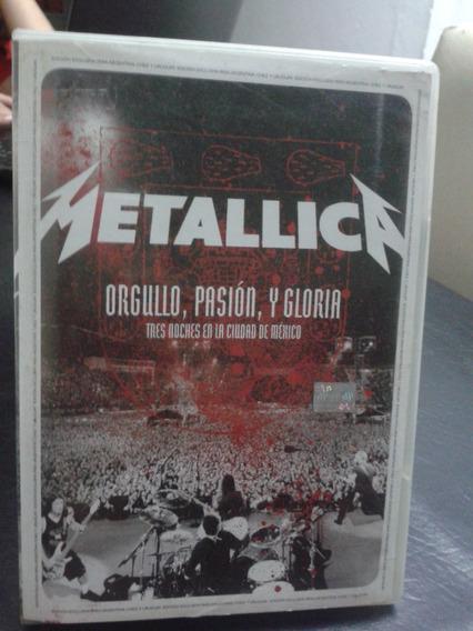 Metallica-orgullo Pasión Y Gloria-mexico-dvd