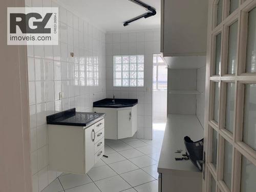 Apartamento Com 2 Dormitórios, 91 M² - Venda Por R$ 550.000,00 Ou Aluguel Por R$ 2.800,00/mês - Embaré - Santos/sp - Ap0440