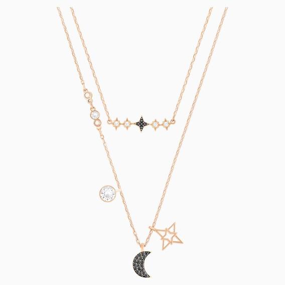 Conjunto De Collares Swarovski Symbolic Moon Mod 5273290