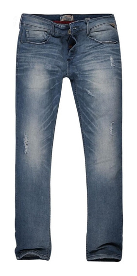 Calça Jeans Masculina Rasgos
