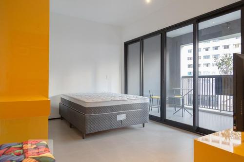Apartamento À Venda - Santa Cecília, 1 Quarto,  33 - S893121450