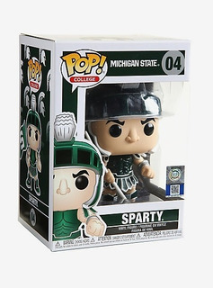 Funko Pop Sparty #04 College Football Michigan State Ncaa