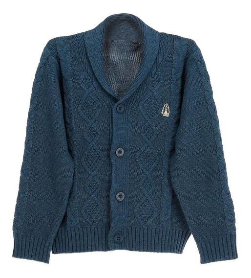 Sweater Algodon/acrilico Viejito Dark Blue[dl5 Hush Puppies