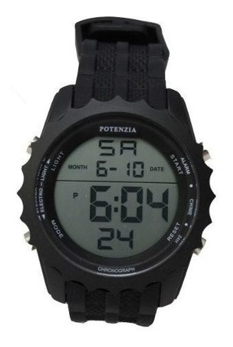 Kit 10 Relogio Potenzia Original Cronometro Alarme Tatico