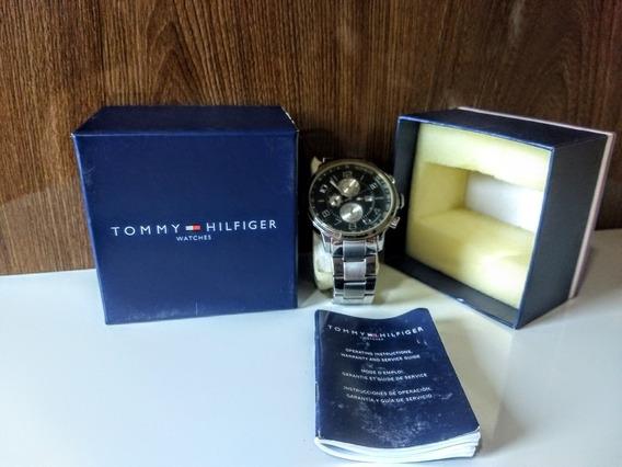 Relógio Tommy Hilfiger Masculino Original Silver.