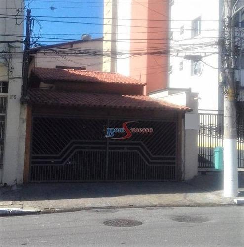 Imagem 1 de 1 de Terreno À Venda, 222 M² Por R$ 1.330.000,00 - Tatuapé - São Paulo/sp - Te0373
