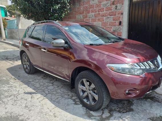 Nissan Murano 2009 2wd Factura De Aseguradora$135,000