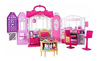 Casa De Escapada Glam Barbie [exclusiva De Amazon]