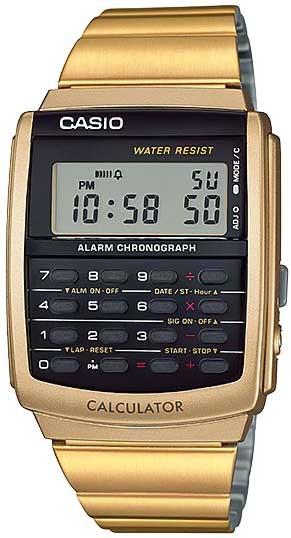 Relógio Casio Masculino Vintage Calculadora Ca-506g-9adf