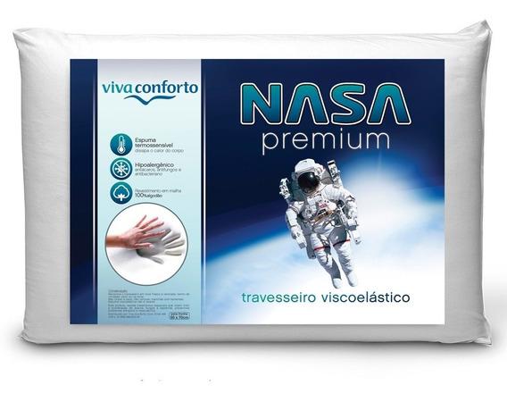 Travesseiro Nasa Viva Conforto Viscoelástico Melhor Preço!