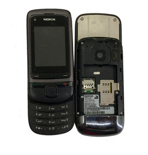 Lote C/ 06 Celulares Nokia C2-02/ C2-05.1 No Estado