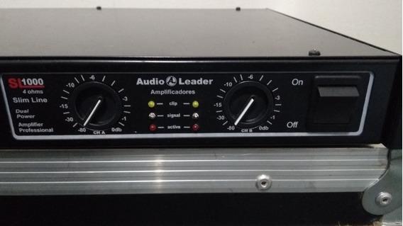 Potência Áudio Leader Slim 1000